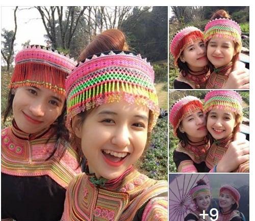 Cô gái dân tộc Mông gây sốt mạng vì quá xinh đẹp 1
