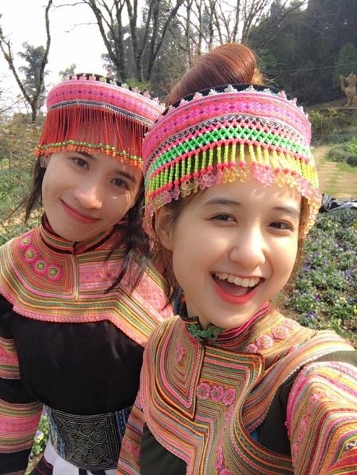 Cô gái dân tộc Mông gây sốt mạng vì quá xinh đẹp 3