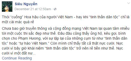 Gặp du học sinh Mỹ 'bóc mẽ' về thói cuồng hoa hậu của người Việt 7