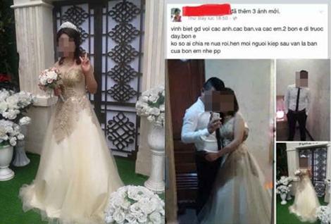 """Cặp đôi mặc đồ cưới tự tử trong khách sạn: """"Chú rể"""" đã tử vong 1"""