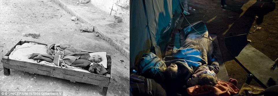 Xót xa chùm ảnh 7 thập kỷ chiến tranh tàn phá cuộc sống trẻ em 2