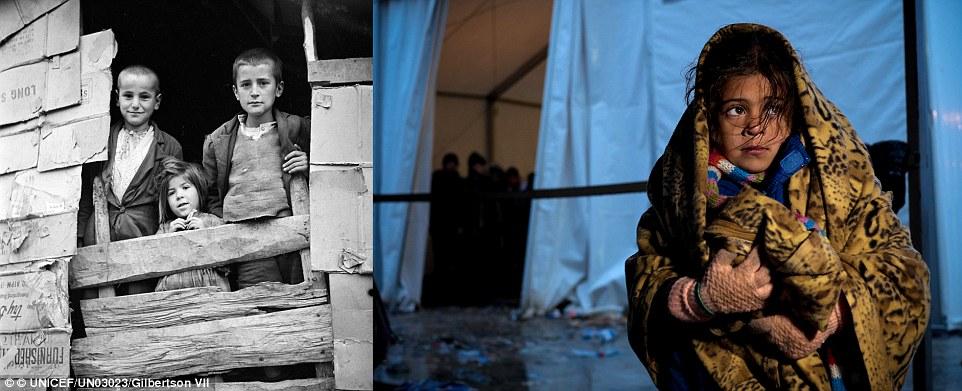 Xót xa chùm ảnh 7 thập kỷ chiến tranh tàn phá cuộc sống trẻ em 3
