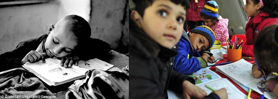 Xót xa chùm ảnh 7 thập kỷ chiến tranh tàn phá cuộc sống trẻ em 5