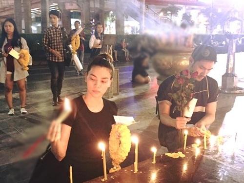 Hồ Ngọc Hà đưa con trai đi Thái Lan sau scandal trang phục 1