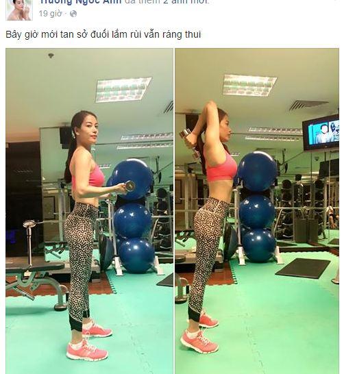 Facebook sao Việt: Phạm Hương bắt đầu khởi đầu mới sau cuộc thi HHHV 7