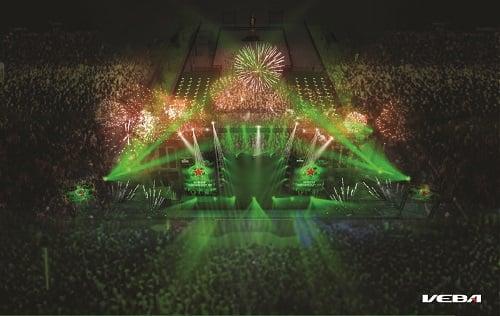 Tưng bừng bước sang 2016 với Heineken Countdown Party 2