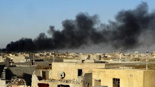 Hình ảnh Liên quân của Mỹ không kích tiêu diệt 10 thủ lĩnh IS số 1
