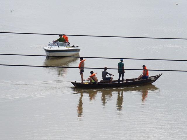 Nam thanh niên nhảy sông Bàn Thạch mất tích 1