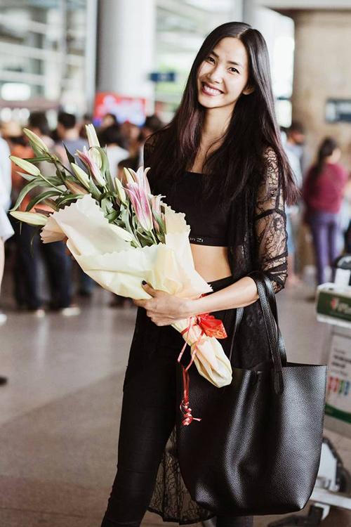 Hoa hậu Phạm Hương, Kỳ Duyên chúc mừng năm mới 2016 3