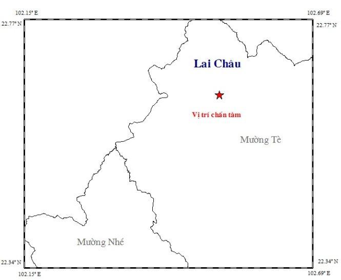 Hình ảnh Lai Châu động đất 3,3 độ richter số 1