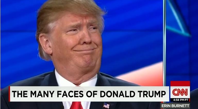"""Hình ảnh Tỷ phú Donald Trump tố Obama – Clinton """"tạo ra IS"""" số 1"""