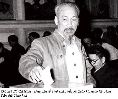 Những hình ảnh lịch sử về ngày Tổng tuyển cử đầu tiên 6/1/1946 2
