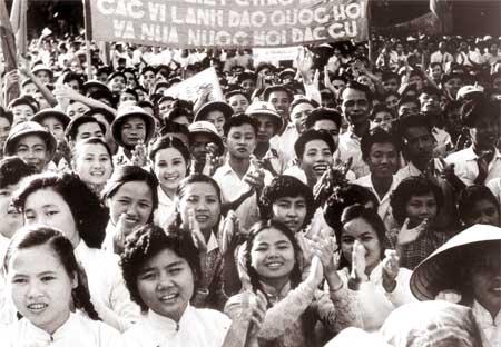 Những hình ảnh lịch sử về ngày Tổng tuyển cử đầu tiên 6/1/1946 6