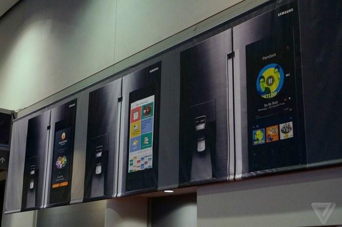 Samsung khoe tủ lạnh chạy Android tại CES 2016 1