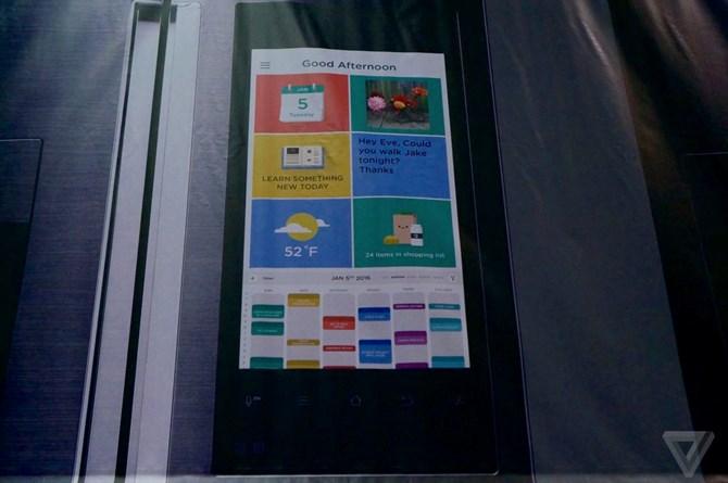 Samsung khoe tủ lạnh chạy Android tại CES 2016 3
