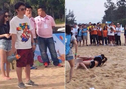 Con trai tỷ phú Trung Quốc mời 150 người mẫu dự sinh nhật xa hoa 1