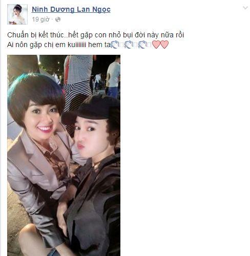 Facebook sao Việt: Ngọc Quyên khoe con trai mới sinh 6