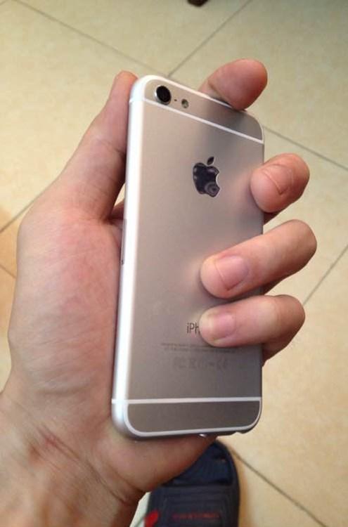 Lộ diện thực tế rõ nét trên tay mẫu iPhone 6C 3