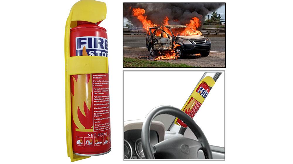 Bình cứu hỏa ôtô phát nổ ở nhiệt độ bao nhiêu? 1