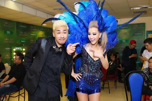 Maya gợi cảm hết cỡ khi thể hiện hit mới của Lưu Thiên Hương 8