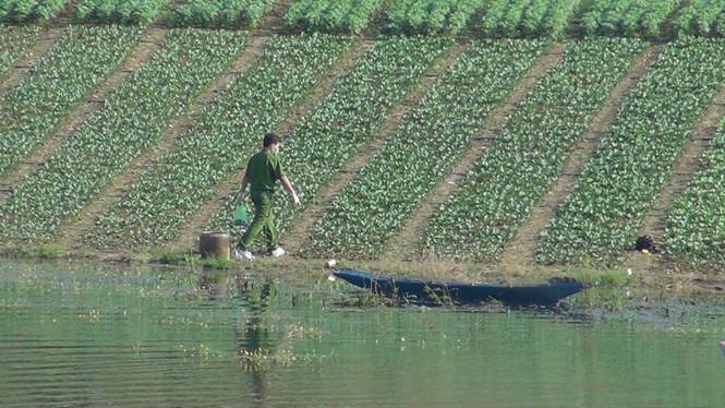 Bình Phước: Nam thanh niên chết trong tư thế bị trói toàn thân ở hồ 1