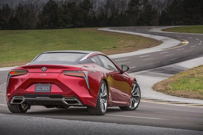 Hình ảnh Lexus cho ra mắt xe thể thao LC500 mới số 1