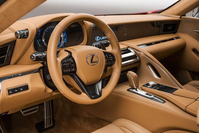Hình ảnh Lexus cho ra mắt xe thể thao LC500 mới số 4