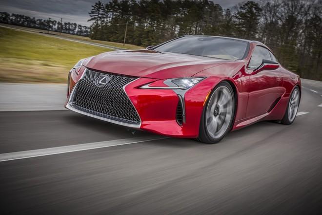 Hình ảnh Lexus cho ra mắt xe thể thao LC500 mới số 3