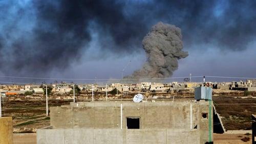 Bom Mỹ hủy diệt kho tiền triệu đô của IS 1