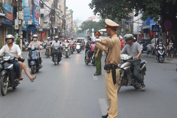 Hà Nội: Cấm đường 30 tuyến phố phục vụ Đại hội Đảng 1