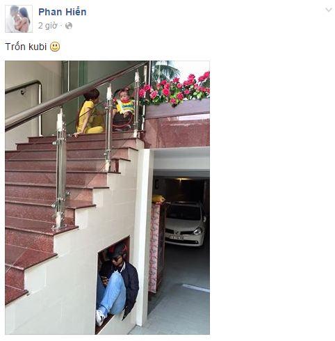 Facebook sao Việt:  Hoa hậu Diễm Hương hạnh phúc bên con trai 2