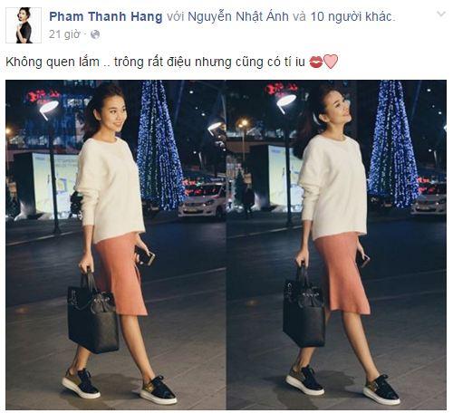 Facebook sao Việt:  Hoa hậu Diễm Hương hạnh phúc bên con trai 12