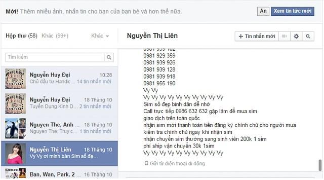 Facebook bị 'ô nhiễm' nặng tại Việt Nam 2