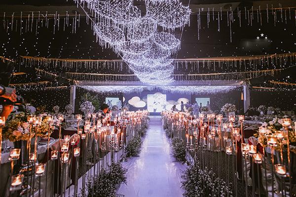 Cặp đôi tổ chức tiệc cưới tiền tỉ, rước dâu bằng máy bay 3