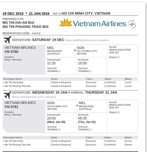 Giáo dục - Du học sinh bị lừa tại Úc sẽ được Vietnam Airlines bán vé ưu đãi