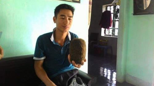 Xôn xao 'quả trứng vàng' trong bụng lợn ở Ba Vì có giá hàng chục tỷ 1