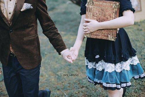 Chiêm ngưỡng bộ ảnh cưới 'Chuyện tình yêu ở xứ sở thần tiên' của cặp đôi Hà Thành 6