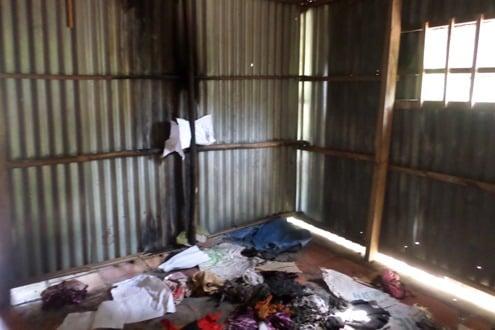 Đồ vật trong căn nhà của bà lão gần 80 tuổi tự nhiên bốc cháy 1