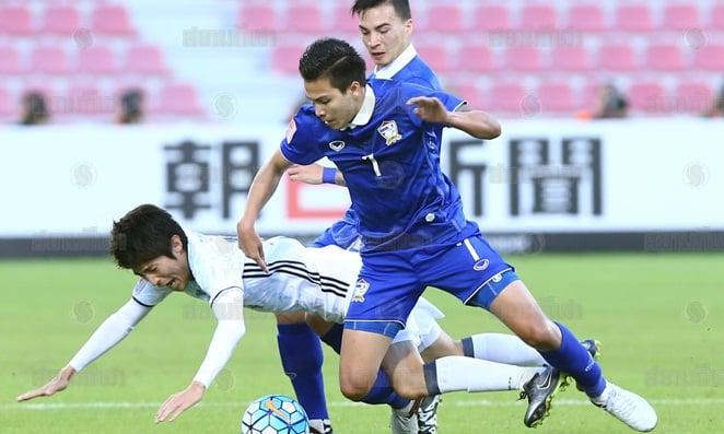 Thua đậm Nhật Bản, U23 Thái Lan đứng trước nguy cơ bị loại 1