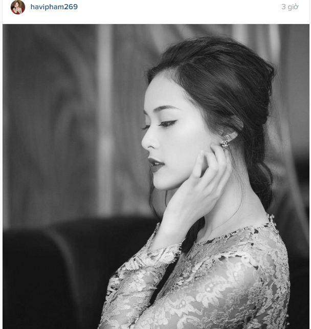Facebook sao Việt: Hoa hậu Kỳ Duyên đẹp mơ màng trong hình ảnh mới 4