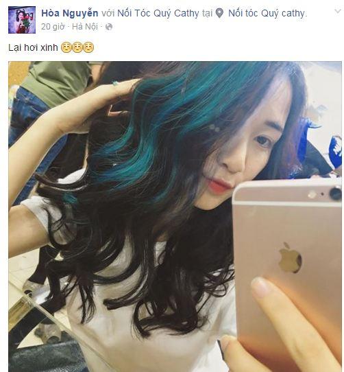 Facebook sao Việt: Hoa hậu Kỳ Duyên đẹp mơ màng trong hình ảnh mới 5