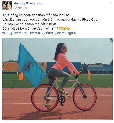 Facebook sao Việt: Hoa hậu Kỳ Duyên đẹp mơ màng trong hình ảnh mới 7