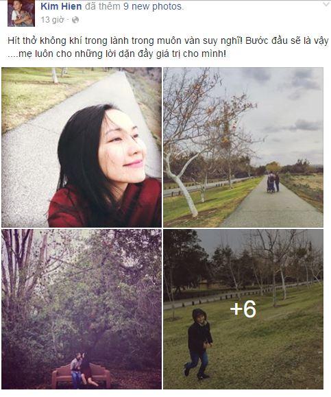Facebook sao Việt: Hoa hậu Kỳ Duyên đẹp mơ màng trong hình ảnh mới 8