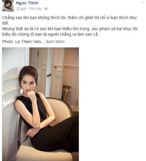 Facebook sao Việt: Hoa hậu Kỳ Duyên đẹp mơ màng trong hình ảnh mới 2