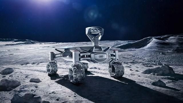 Audi công bố thiết kế robot thám hiểm Mặt trăng 2