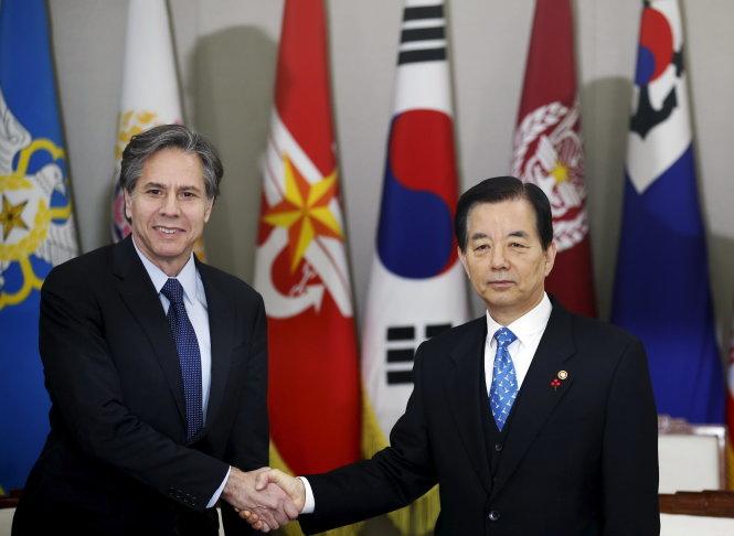 Mỹ muốn Trung Quốc  mạnh tay trừng phạt Triều Tiên 1