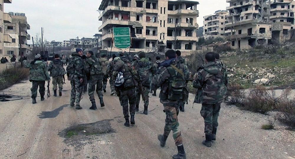 Vũ khí bí mật giúp quân đội Syria bất bại ở Salma 1