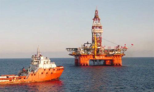 Bắc Kinh thông báo vị trí của giàn khoan Hải Dương 981 ngoài cửa Vịnh Bắc Bộ 1