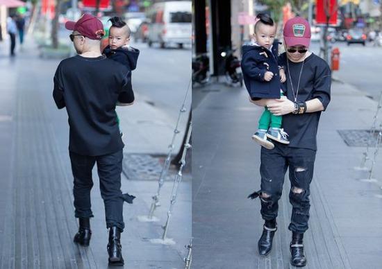 Con trai Đỗ Mạnh Cường sành điệu như fashionista 2