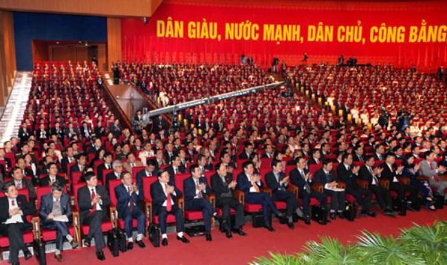 Khai mạc Đại hội đại biểu toàn quốc lần thứ XII Đảng Cộng sản Việt Nam 1